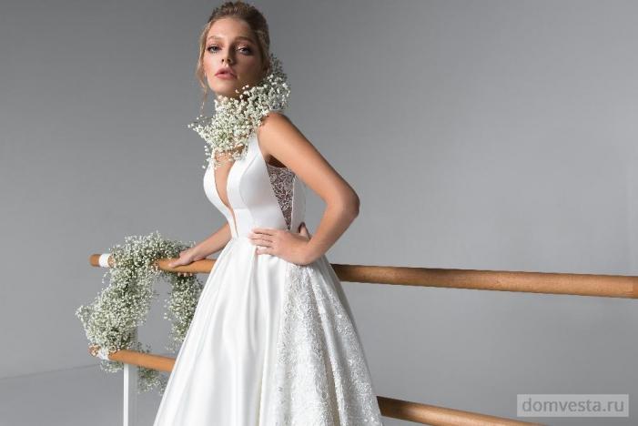 7b1dde9dd28 Свадебные платья цвета айвори – свадебные платья от Дом Весты