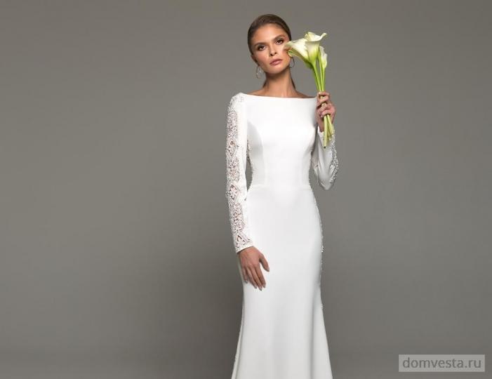 85fe771f56a Скромные свадебные платья – свадебные платья от Дом Весты